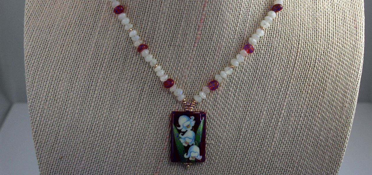 Lily of the Valley - Necklace