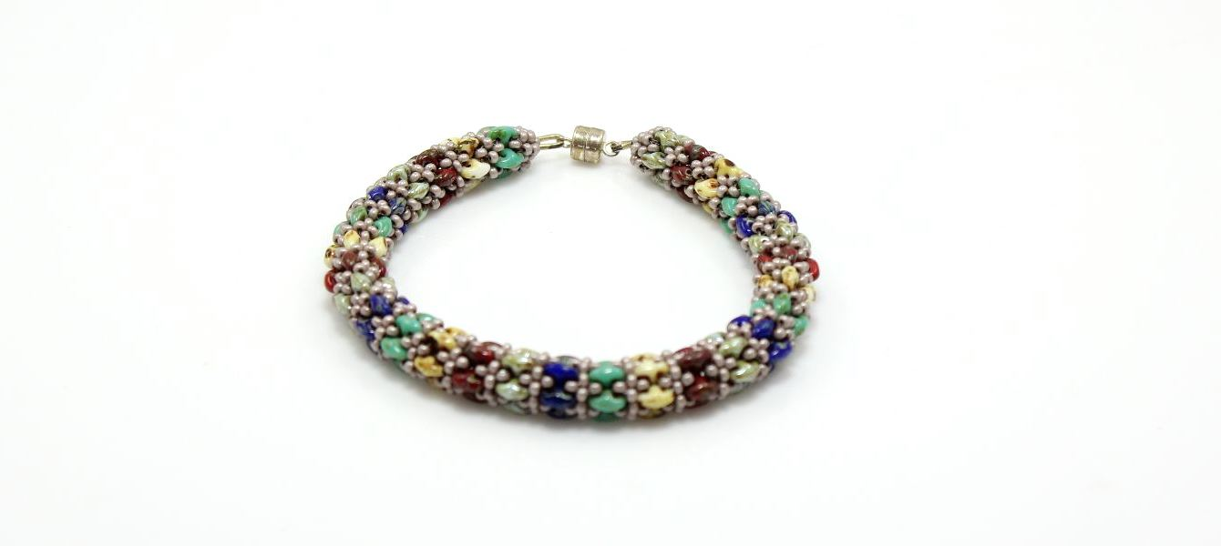 Image of Picasso Bisque Bracelet