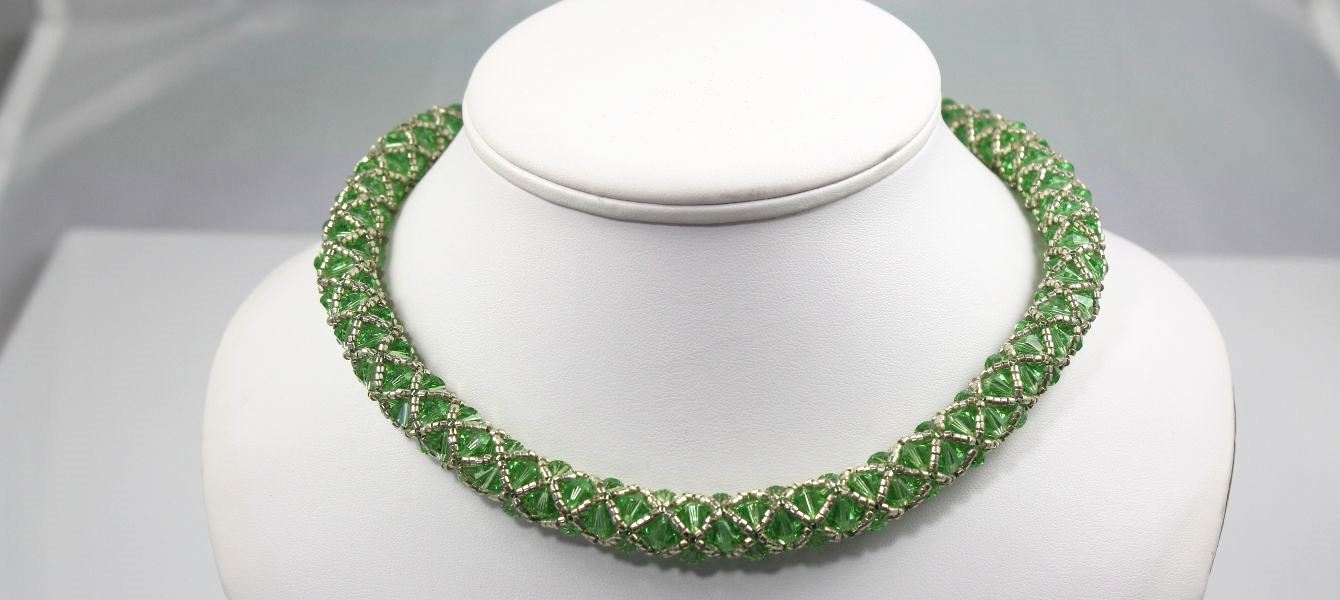 Peridot Mist Necklace
