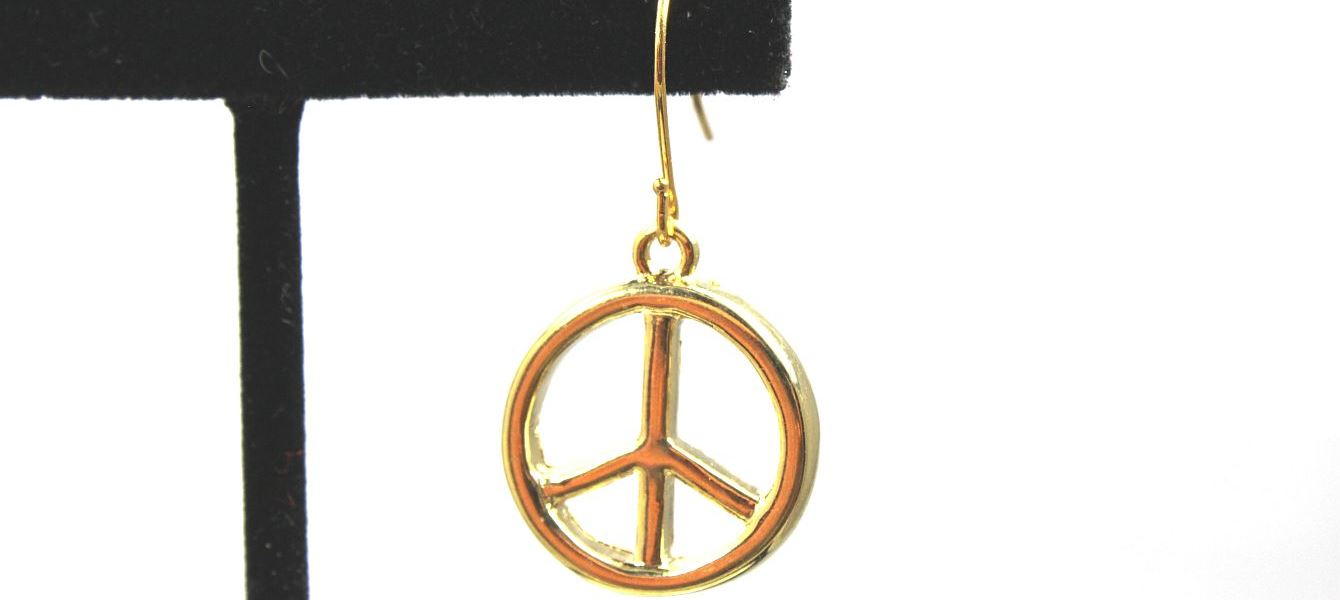 Golden Peace - Earrings