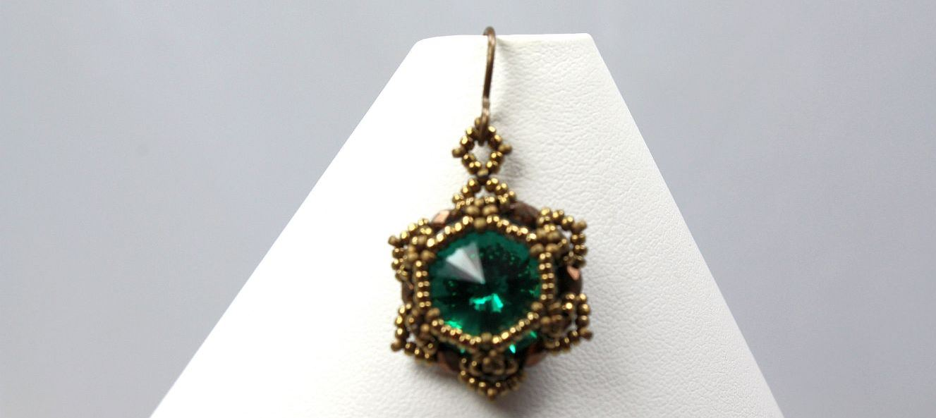 Emerald Rav - Earrings