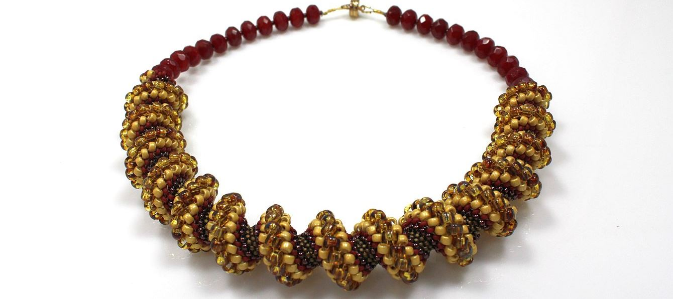 Cranberry Cellini - Necklace