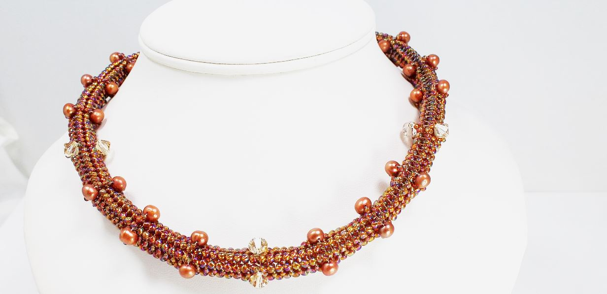 Eclectic Bronze - Necklace
