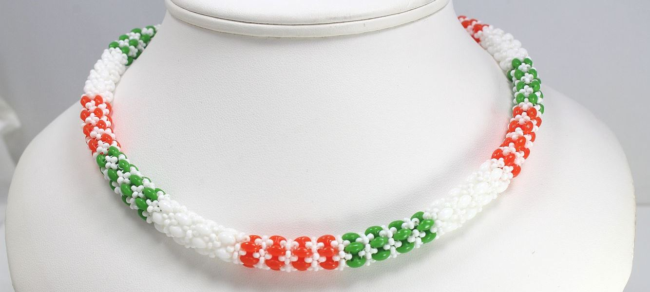 Irish Flag - Necklace