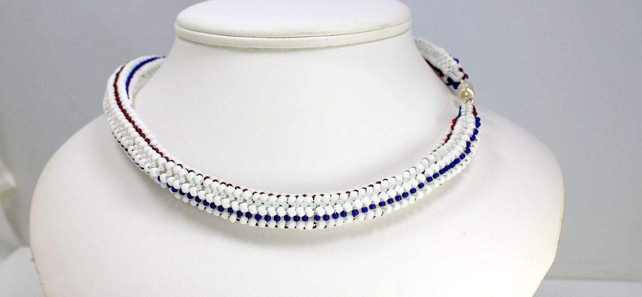 4th of July - Necklace
