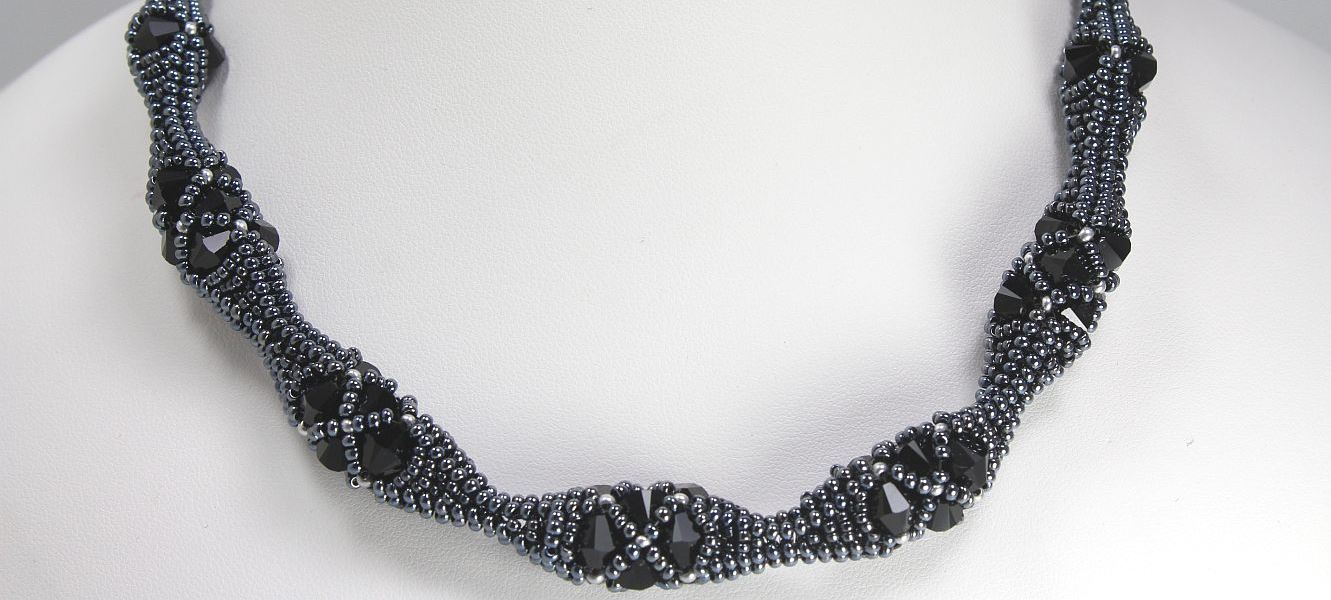 Hematite Nest - Necklace