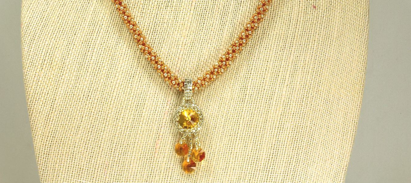 Sunflower - Necklace