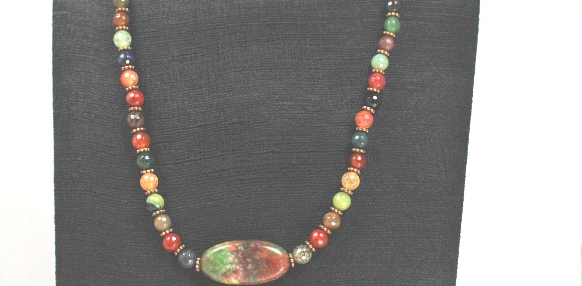Gemstone Supreme - Necklace