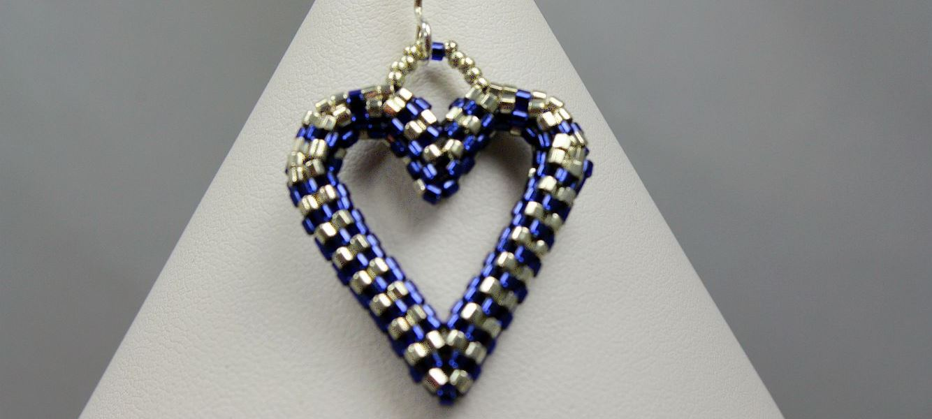 "Image of ""S & S"" Hearts - Earrings"