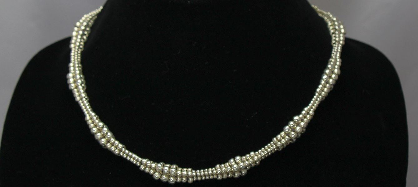 Nancy's Necklace - Silver