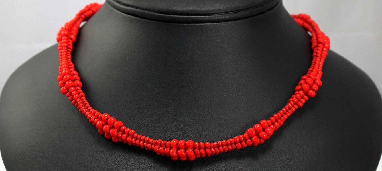 Nancy's Necklace - Red