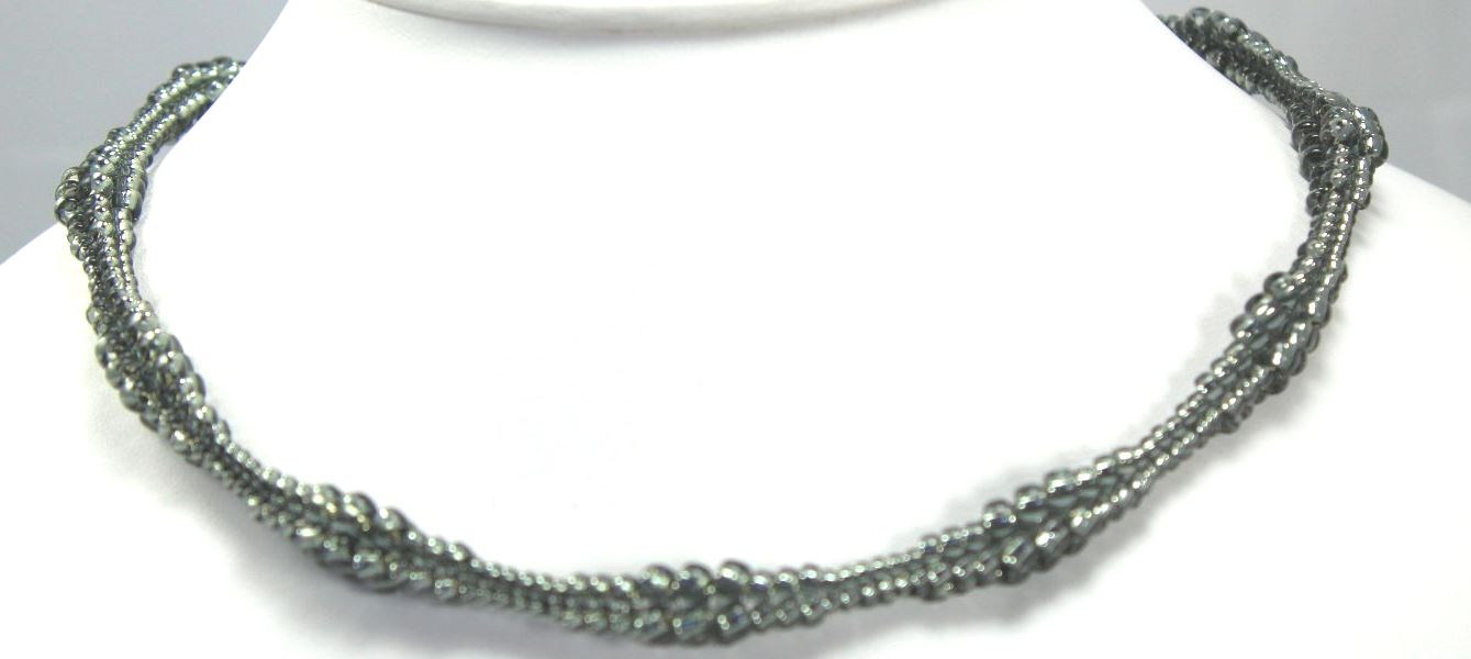 Nancy's Necklace - Hematite