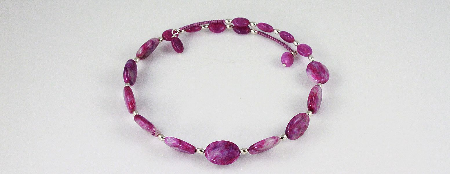 Fushsia Fashion Necklace