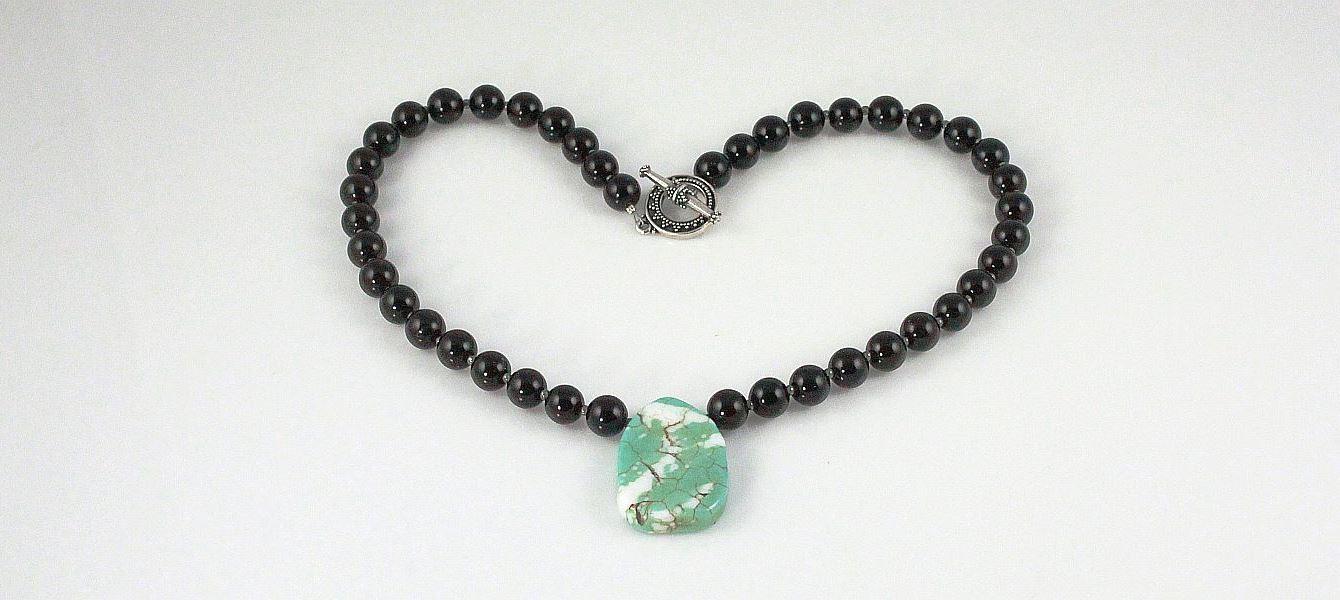 Image of Black Obsidian Necklace