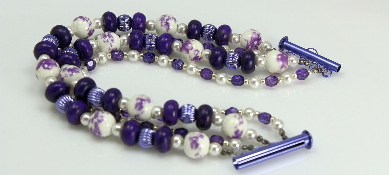 Image of Lilac Twist - Bracelet