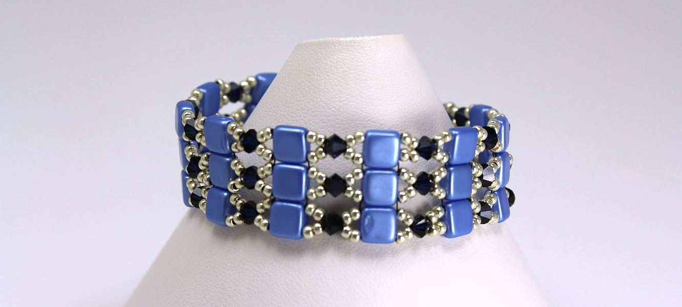 Shades of Blue - Bracelet