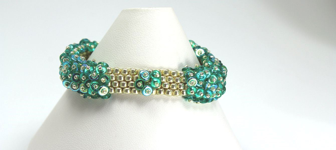 Image of Teal O-Bead - Bracelet
