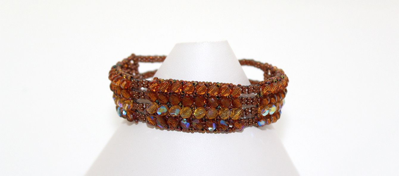 Image of Autumn Sunset - Bracelet