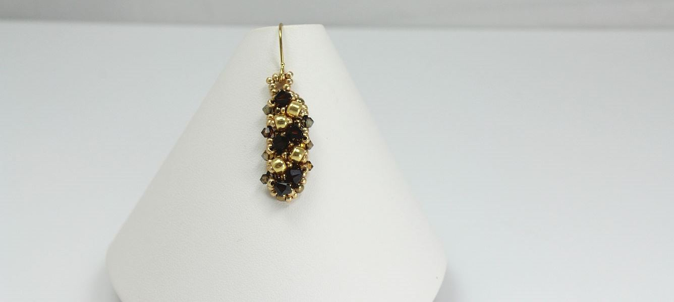 Image of Mocha Sparkle - Earrings