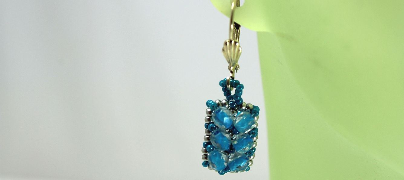 Turquoise Sparkle - Earrings