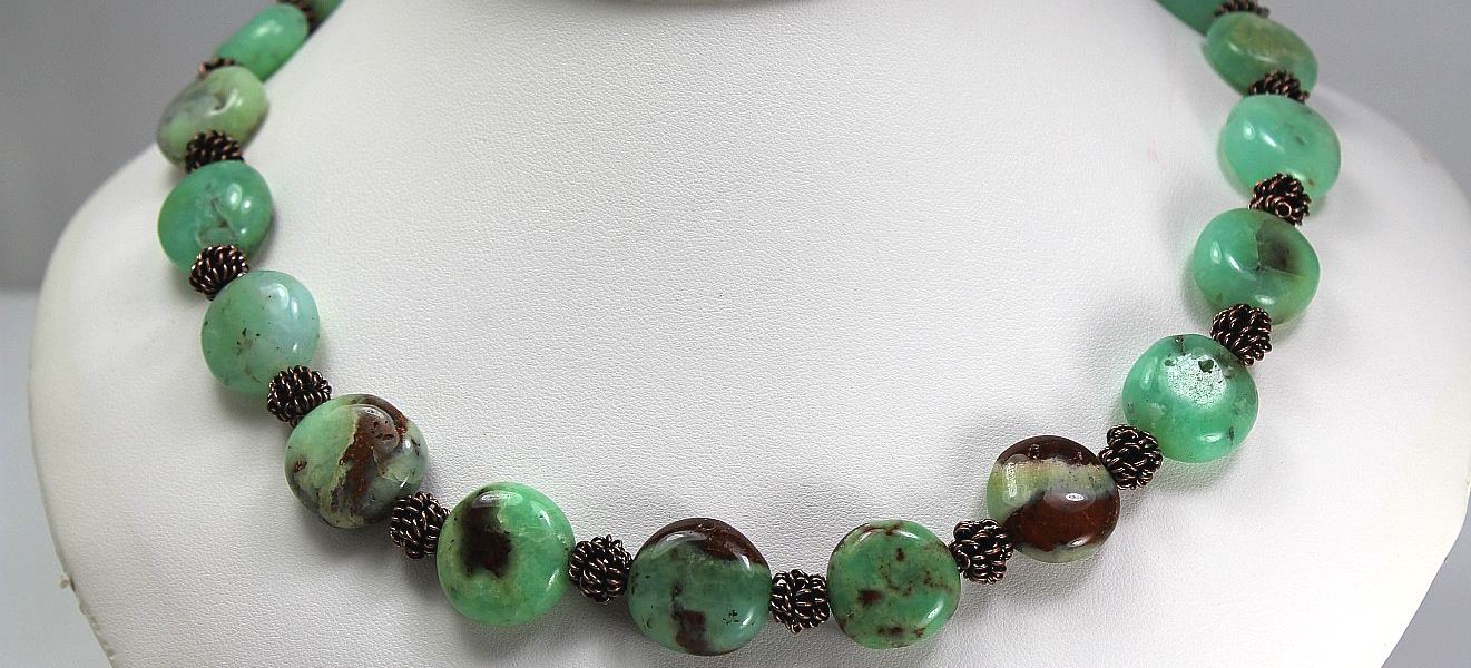 Mint Chocolate - Necklace