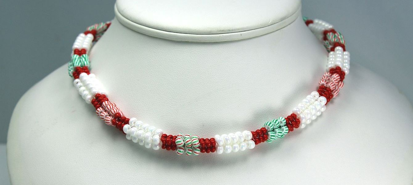 Candy Cane - Necklace