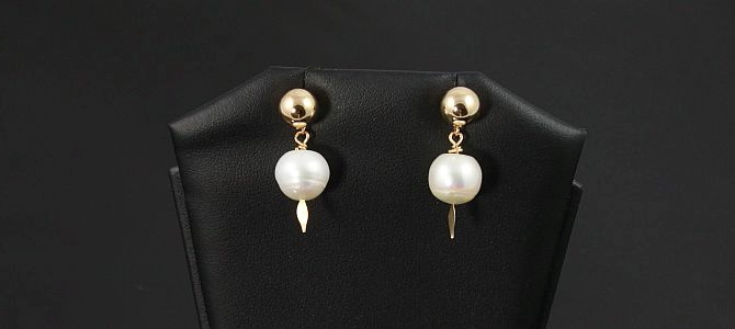 Image of Pearls in Gold