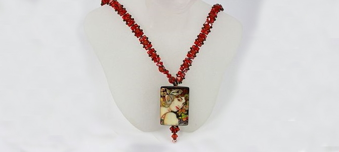 Fruit by Mucha Necklace