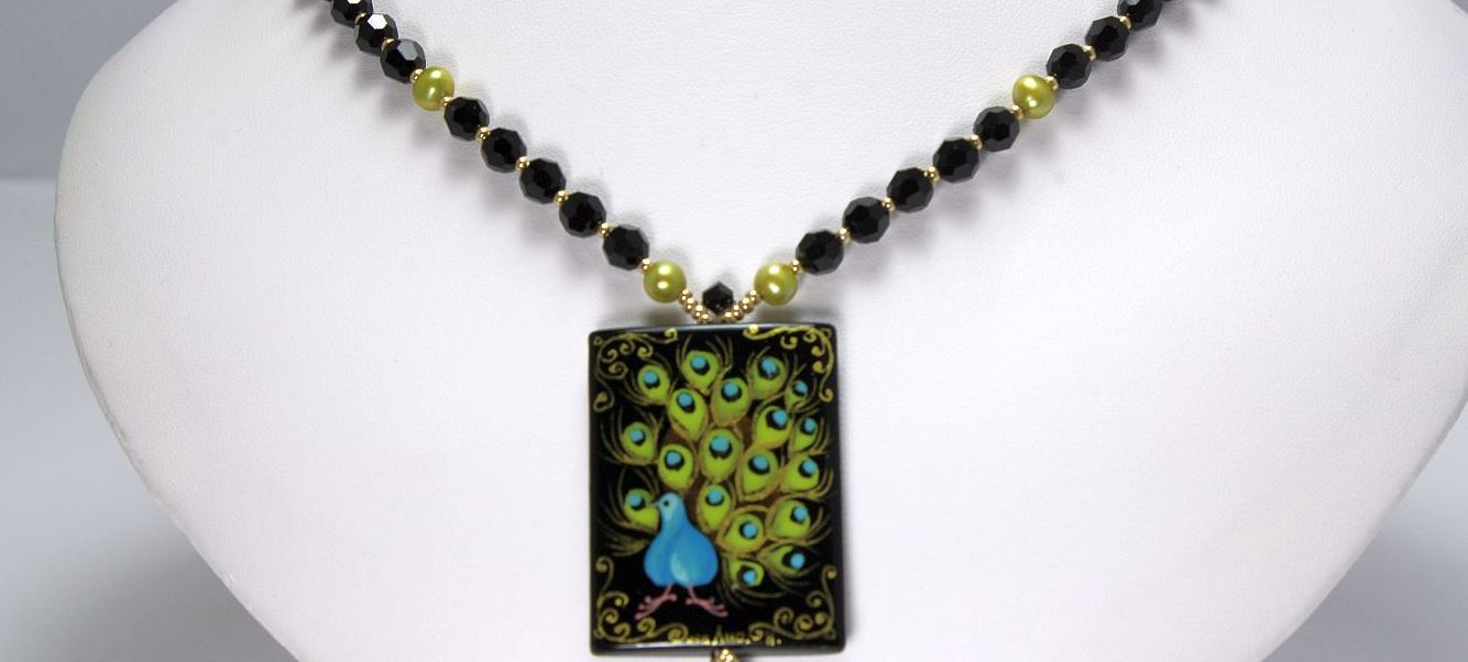 Peacock - Necklace