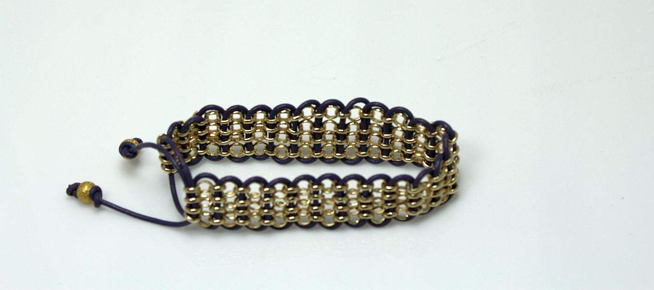 Heather in Gold - Bracelet