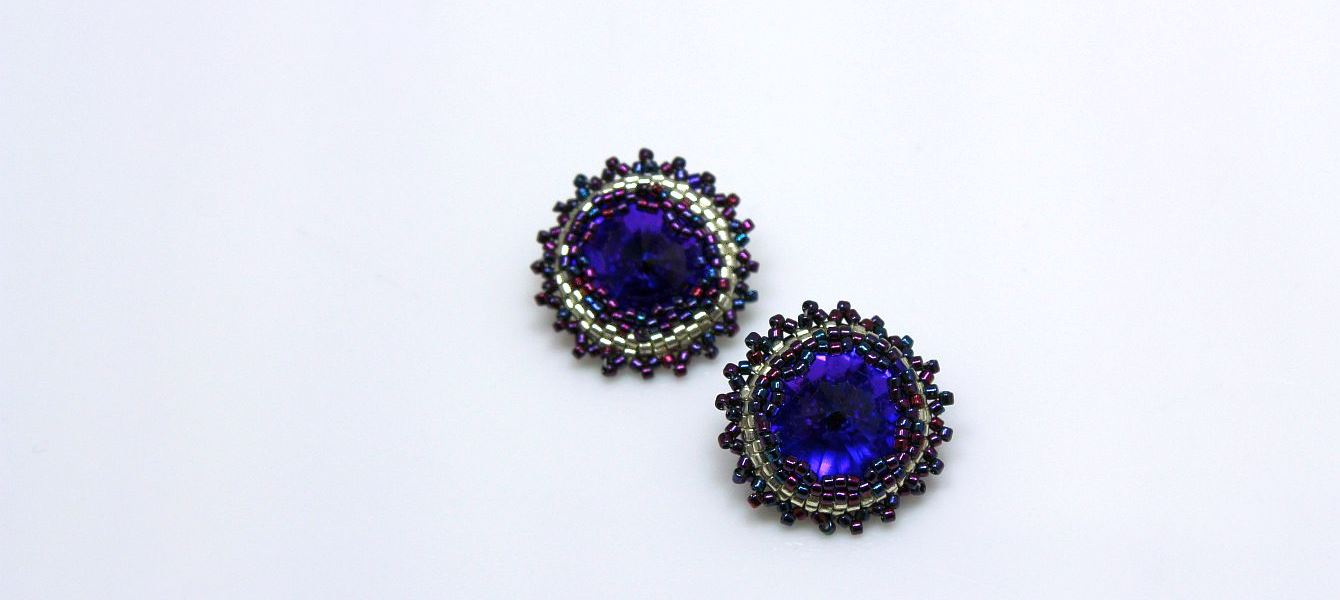 Plush Purple Earrings